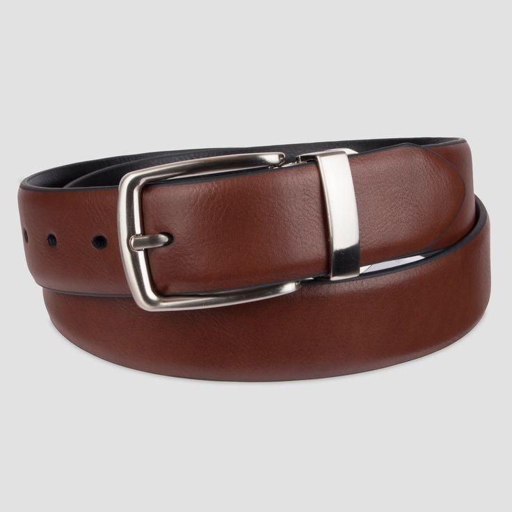 Men's Stretch Belt - Goodfellow & Co Brown XL