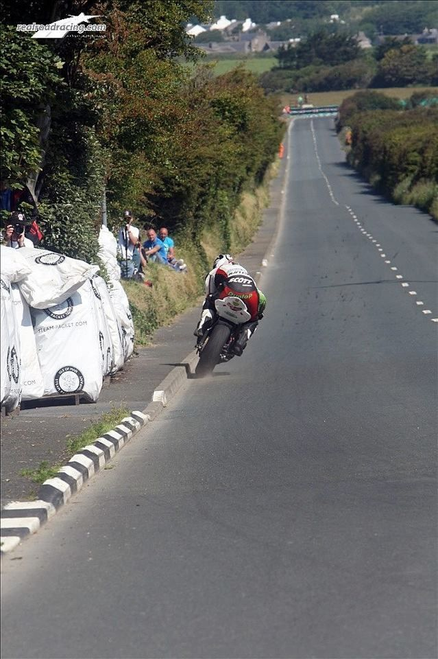 Isle of the Man. it is always about how far the rider can push.