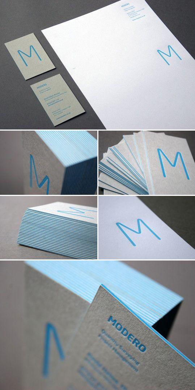 Modero : Sarah Humphreys Business Cards corporate design identity