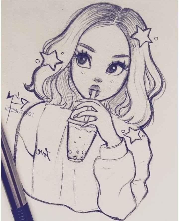 Anime Drawing Of Girls 2019 Anime Drawing Of Girls 2019 Anime Drawing Girls T Girl Drawing Sketches Cartoon Girl Drawing Art Drawings Sketches Simple