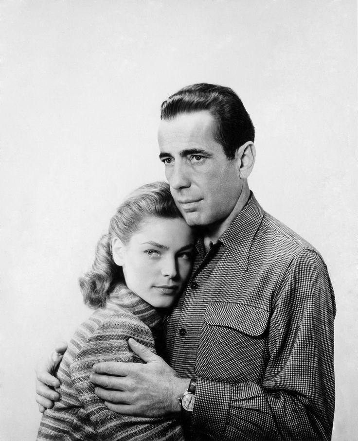 Lauren Bacall and Humphrey Bogart, 1947 viaallthroughthenightb