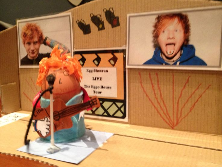 'Egg Sheeran'