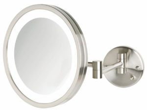 Lighted Shaving Mirror Wall Mounted