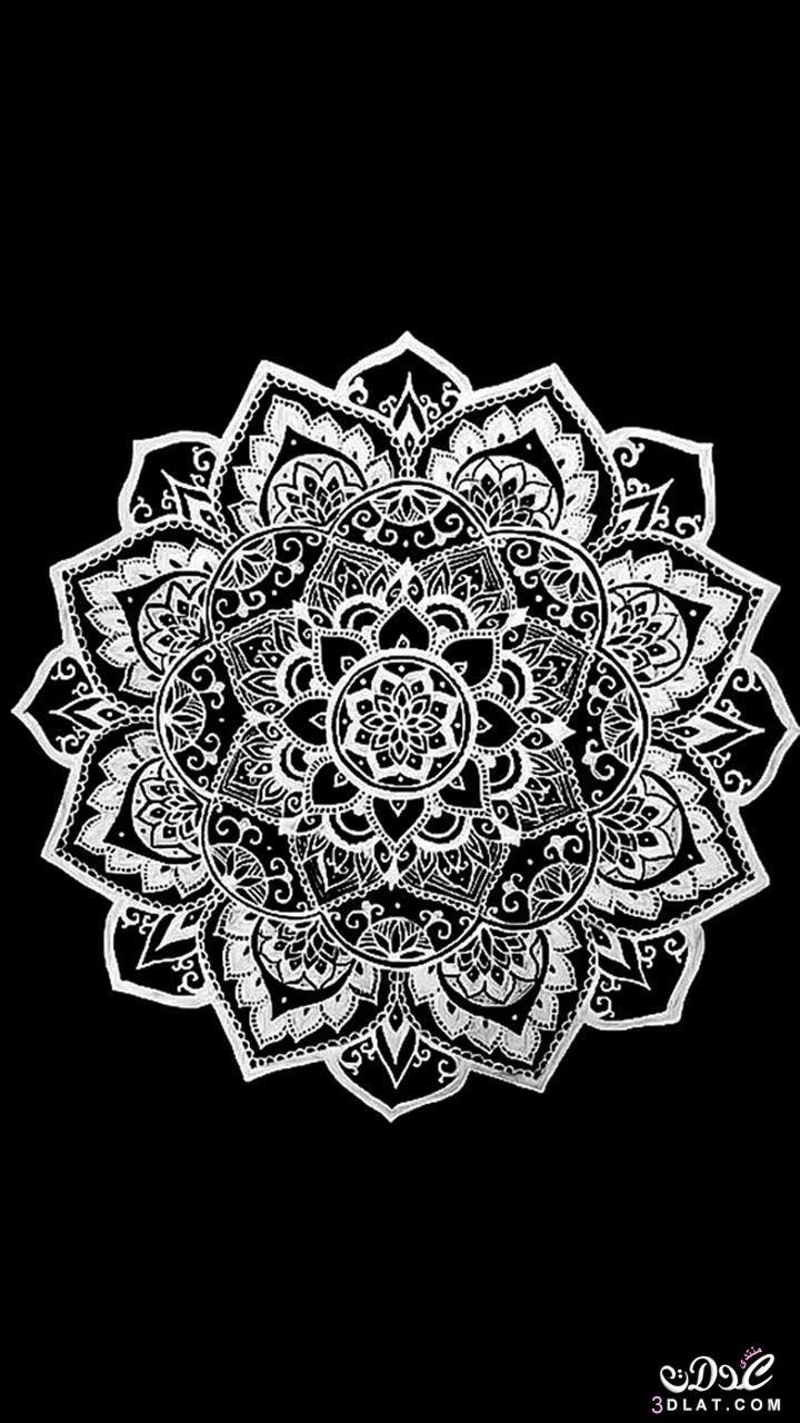 خلفيات موبايل جديدة 2020 خلفيات موبايل روعة اجمل خلفيات الجوال خلفيات ايفون وتابلت رقيقة Mandala Wallpaper Mandala Art Flower Mandala