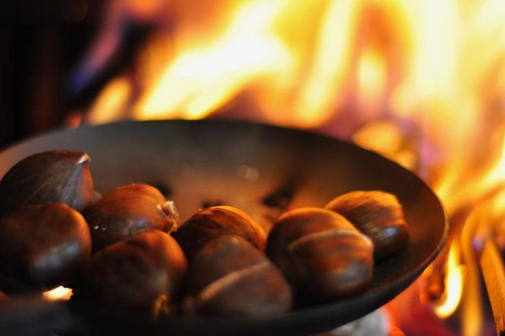 How to Roast Chestnuts On an Open Fire | Multi Cultural Cooking Network