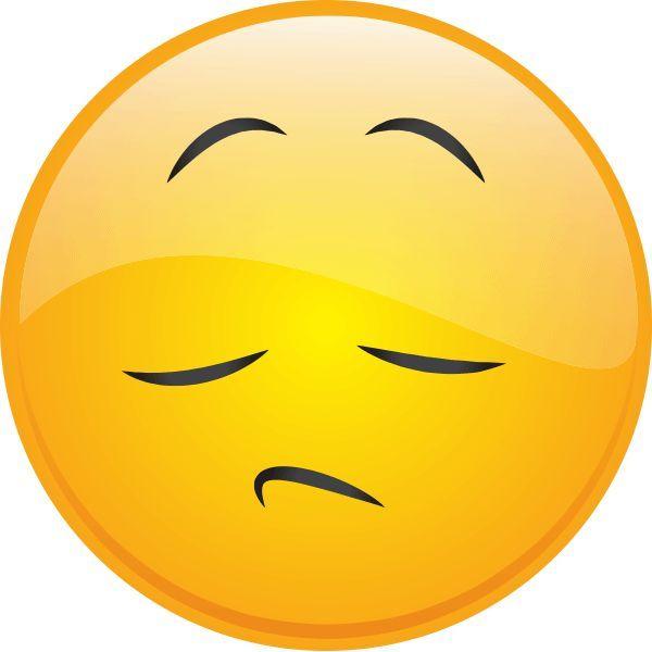 Emoticon sad