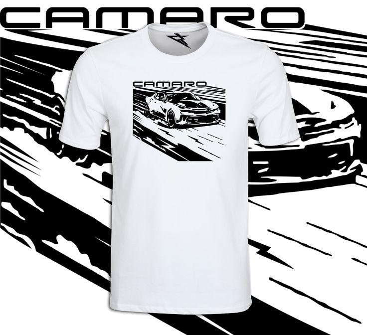 Coś dla prawdziwych fanów motoryzacji! Koszulka CAMARO!