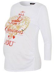 All I Want For Christmas Maternity Top