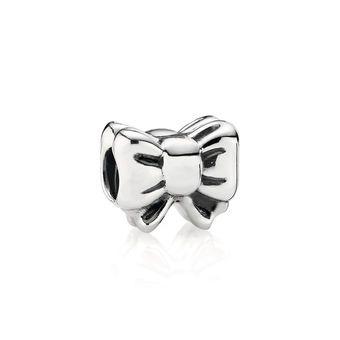Silver Bow Charm - PANDORA