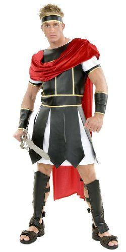 Mens gladiator Halloween costumes and outfits. The best Halloween outfits for 2013 are Men's Roman gladiator Halloween costumes, Greek soldiers outfits, Hercules and lots more Roman era costumes.