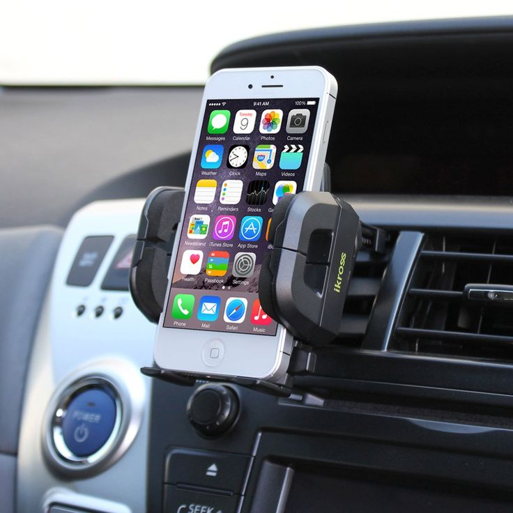 iKross Compact Air Vent Clip On Car Mount Holder For Samsung Galaxy Note 4 / Galaxy Alpha / Galaxy Mega 2 / Galaxy S 5 / iPhone 6 / iPhone 6 Plus and more:Amazon:Cell Phones & Accessories
