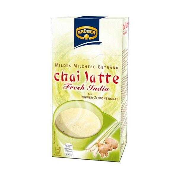 KRÜGER chai latte Fresh India  super yummy! echt super heerlijk!