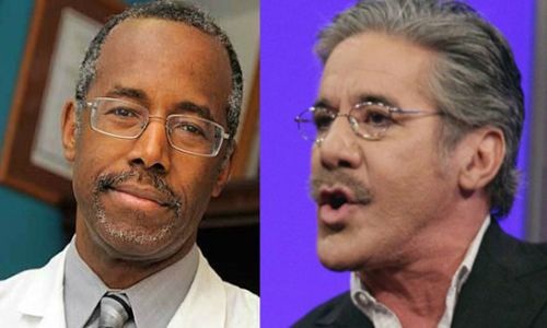 Geraldo: Republicans are just pretending they'll vote for Carson because HE'S BLACK!