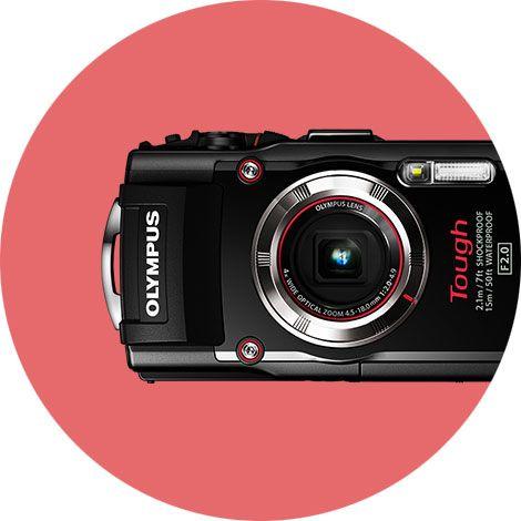 Olympus TG-3 Tough  Le TG-3 Tough est un appareil photo numérique conçu pour les plongeurs et les baroudeurs.