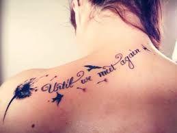 until we meet again tattoo