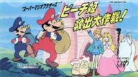 "Super Mario Bros.: Peach-Hime Kyushutsu Dai Sakusen! (The Great Mission to Rescue Princess Peach!""); 1986 Japanese anime film. Directed by Masami Hata & produced by Masakatsu Suzuki & Tsunemasa Hatano, the plot centers around Mario & Luigi, who get stuck in a Famicom video game & must save Princess Peach from Bowser. Although the film was released on VHS by VAP video, it was never released outside Japan, on official DVD or into any other language."