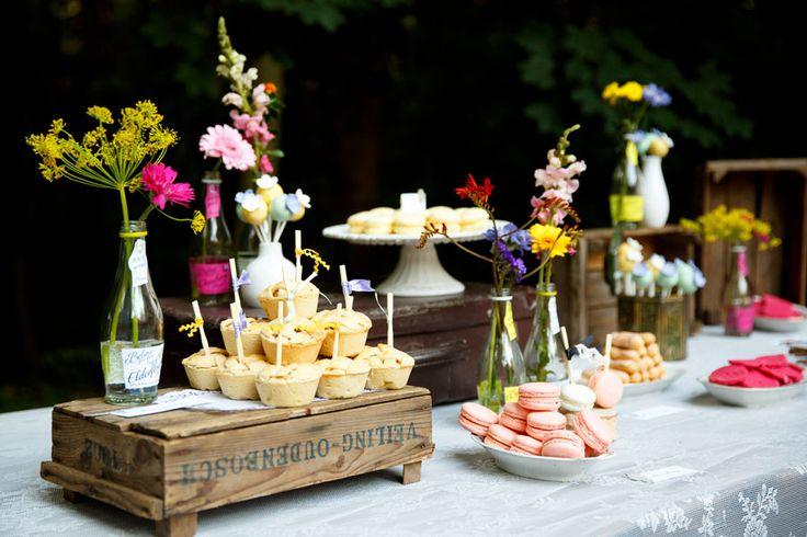 Bruidsfotografie Mariënwaerdt | Merel en Roger | Weddingplanner het Bruidsmeisje | Vintage Dessert Table | Elivents