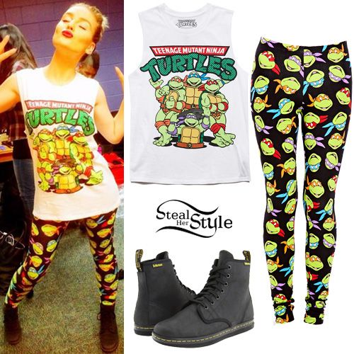 Perrie Edwards: Ninja Turtles Outfit | Steal Her Style