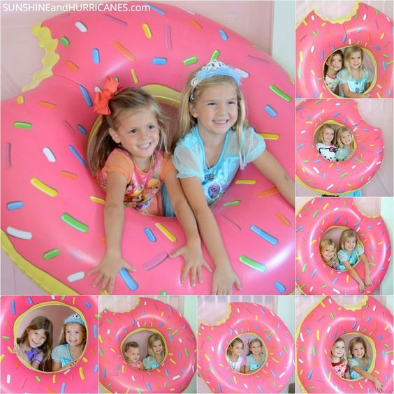 Donut party photo prop