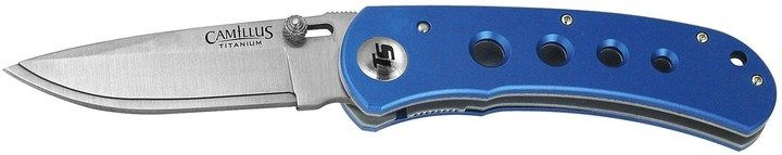 Camillus TigerSharp Pocket Knife - Replaceable Blade, Liner Lock