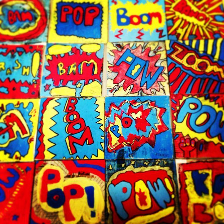 5th grade POP art