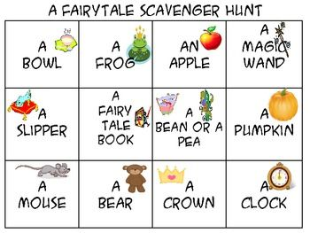 Use this to asses your students knowledge of a fairy tale unit. Or just as a fun part of  a fairy tale study.