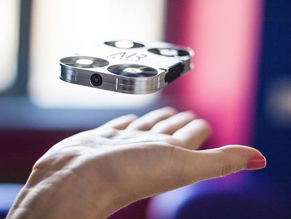 Remember when we thought selfie sticks were the most annoying thing? A tiny, flying selfie camera is looking for funding on Kickstarter. AirSelfie is small enough to fit into a smartphone case and uses a 5MP camera. Read more