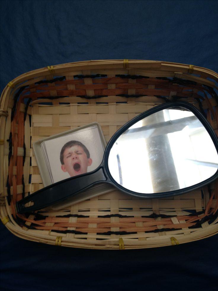 Toddler Montessori - feelings mirror