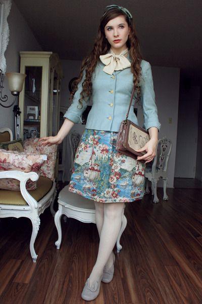 Vintage Otome Classic Lolita Fanny Rosie