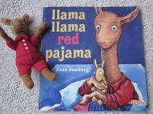 """Read """"Llama Llama Red Pajama"""" and set a record!"""