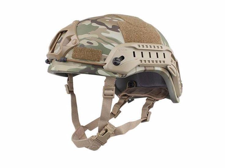 MICH ACH Helmet 2001 Tactical Protective Helmet Camouflage US Military Style Combat Helmet