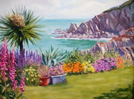 Cliffe Garden at Lee Bay