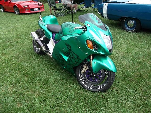 Suzuki GSXR 1300 Hayabusa motorcycle by cjp02, via Flickr