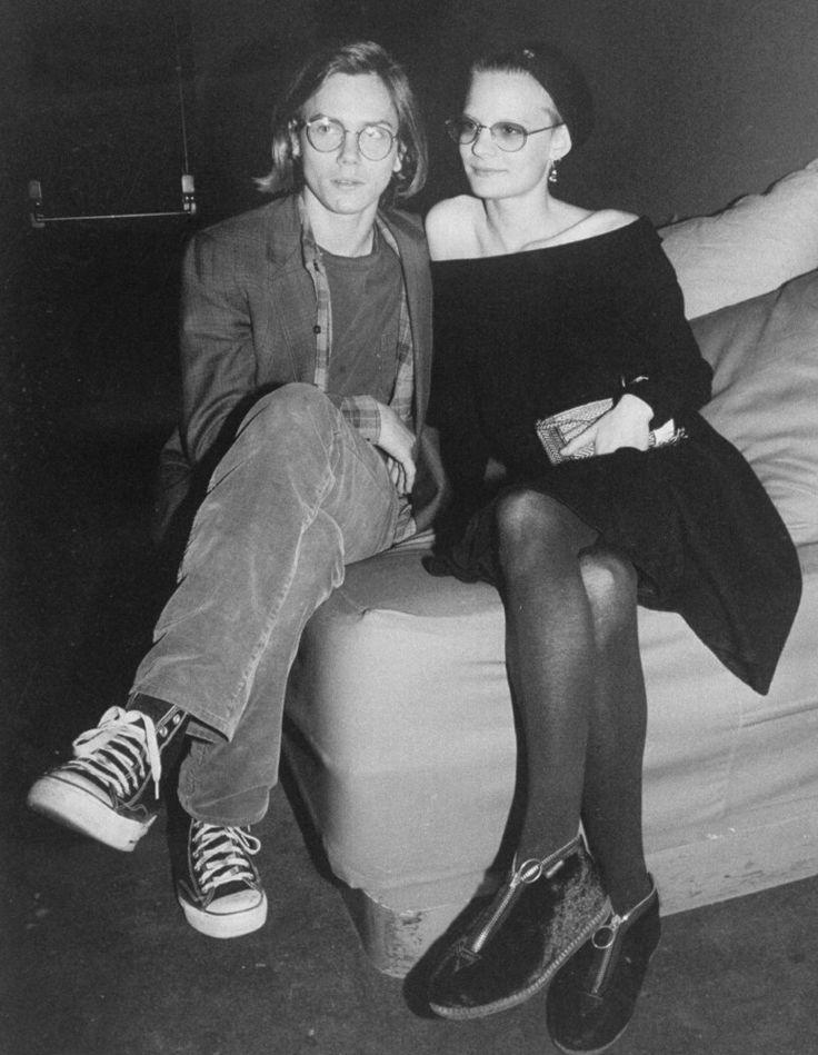 River Phoenix and Martha Plimpton, 1989 Getty