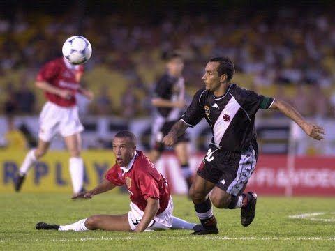Golaço do Edmundo contra o Manchester United (Mundial de Clubes da FIFA 2000) - YouTube