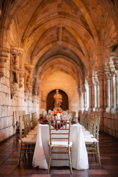 Florida wedding venue: Ancient Spanish Monastery in North Miami Beach
