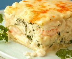 Best Seafood Lasagna Recipe - http://healthyrecipesideas.com/best-seafood-lasagna-recipe/