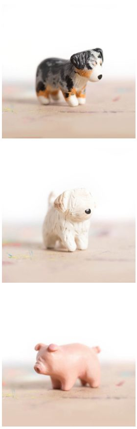 cute animal totems from le animalé                                                                                                                                                      Plus