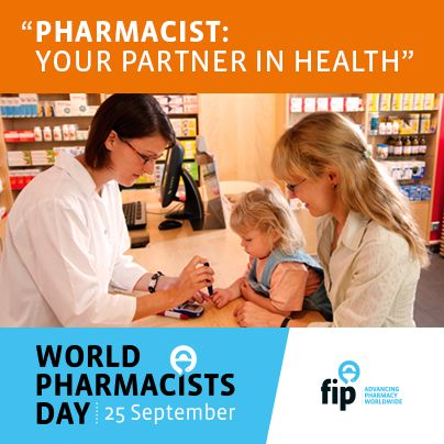 World Pharmacists Day - FIP - International Pharmaceutical Federation