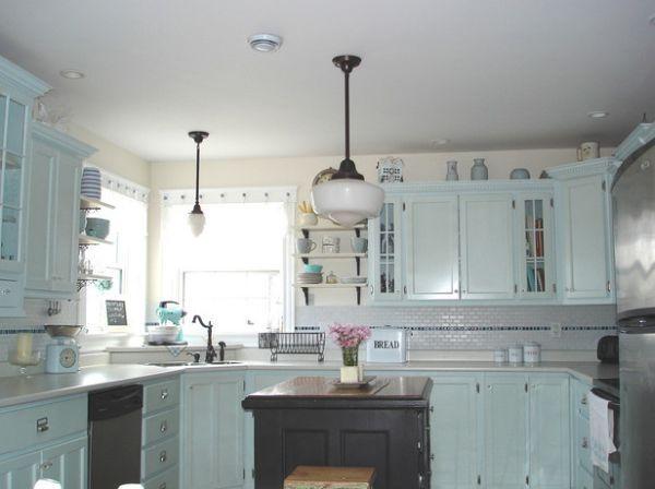 u-formet kjøkken hjørne vask foto - 4