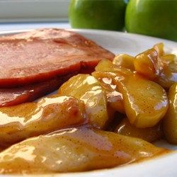"""Sauteed Apples   """"Delicious! Served as a side dish, but could easily serve as a dessert."""""""