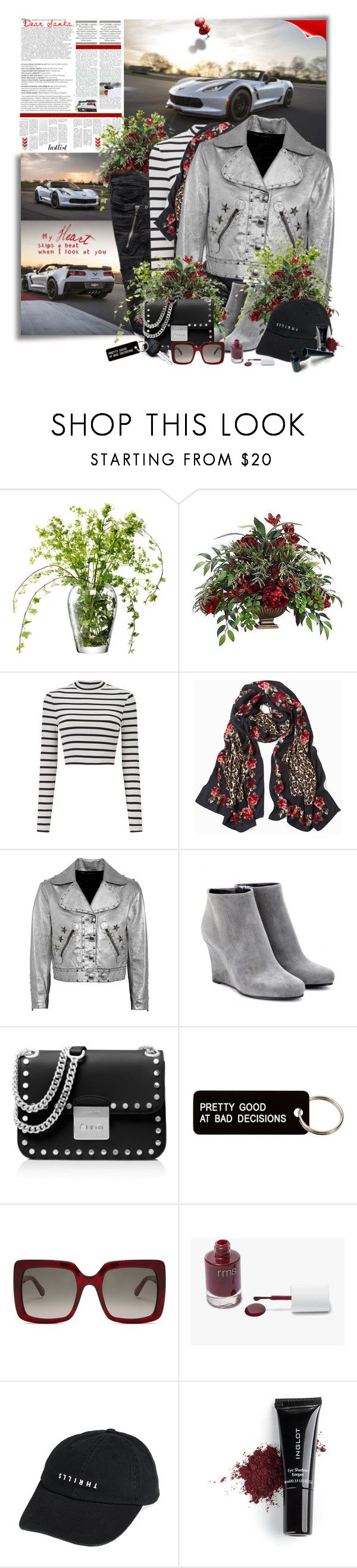 """""""My Heart Skips a Beat"""" by summersunshinesk7 ❤ liked on Polyvore featuring WALL, Oris, LSA International, Miss Selfridge, White House Black Market, Marc by Marc Jacobs, Jil Sander, MICHAEL Michael Kors, Various Projects and STELLA McCARTNEY"""