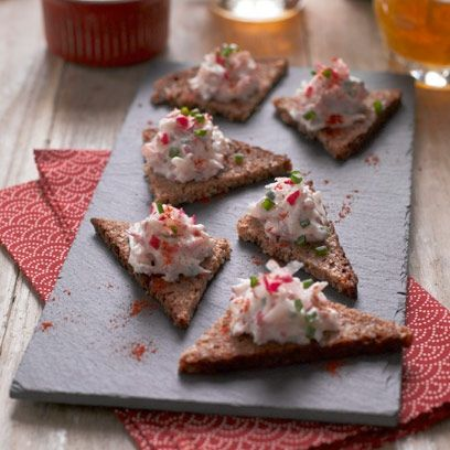 17 best images about christmas starter recipes on for Best canape book