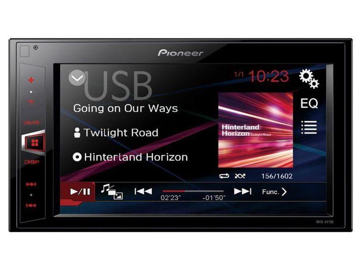 Pioneer MVH-AV180 2 DIN érintőképernyős multimédia fejegység