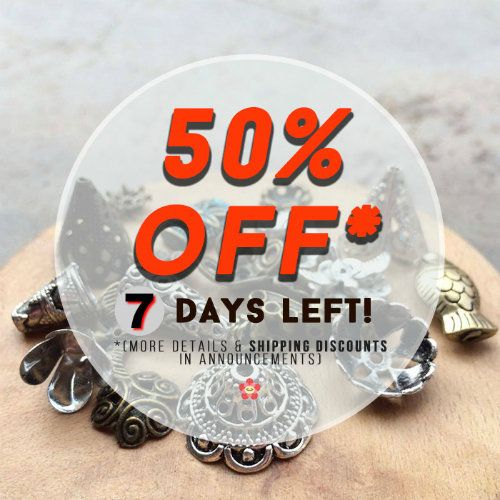 7 Days Left -50% OFF- Moving Clearance Sale!