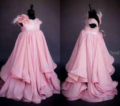 """Anna Triant Couture   Products   Flower Girl Dress   """"Delphine"""" Gown"""