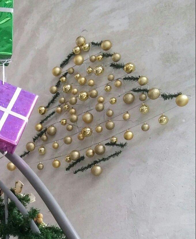 Tannenbaum aus kleiderbügeln