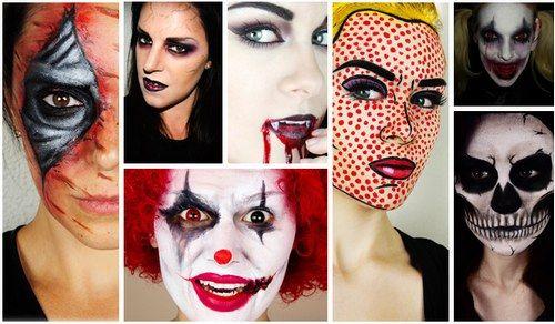 I make-up da sfoggiare la notte di Halloween - Trucco Halloween
