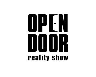 Open Door Logo - Not seen the show but the E and the use of the door handle is class