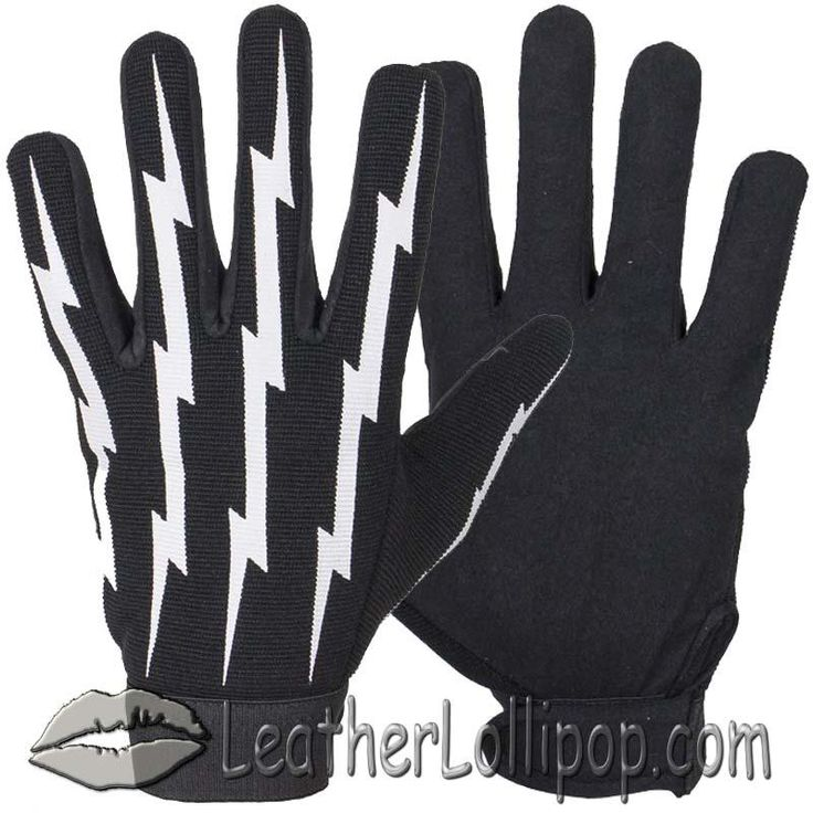 Now available in our store: Mechanics Gloves ... Check it out here! http://leatherlollipop.com/products/mechanics-gloves-with-lightning-bolts-sku-grl-glz88-dl?utm_campaign=social_autopilot&utm_source=pin&utm_medium=pin Use Coupon Code PIN123 and save money! Free ship.